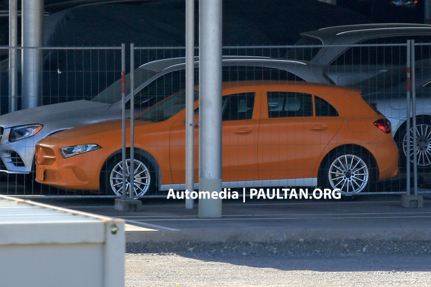 SPIED: 2018 Mercedes-Benz A-Class undisguised! Image #732031