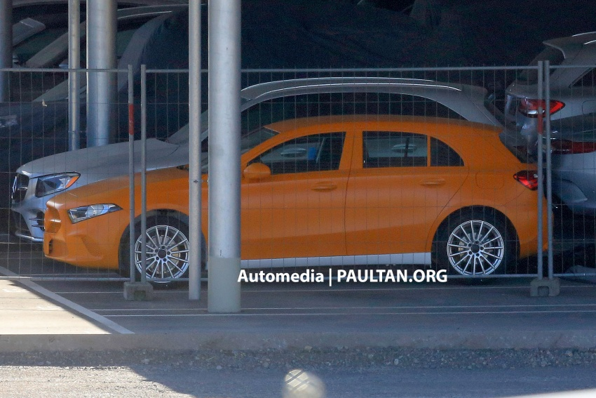 SPIED: 2018 Mercedes-Benz A-Class undisguised! Image #732032