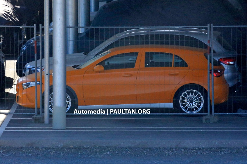 SPIED: 2018 Mercedes-Benz A-Class undisguised! Image #732033