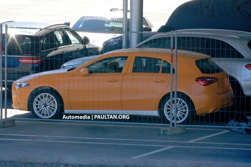 SPIED: 2018 Mercedes-Benz A-Class undisguised! Image #732034