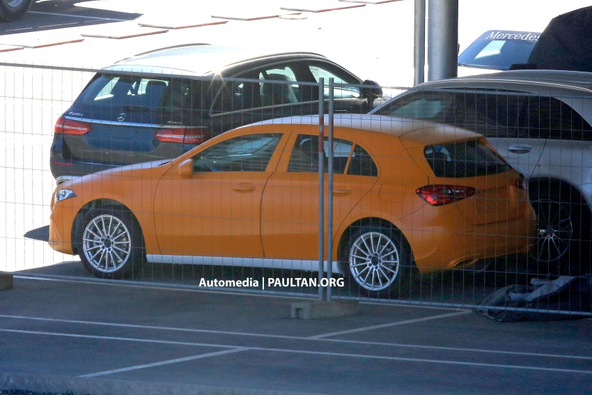 SPIED: 2018 Mercedes-Benz A-Class undisguised! Image #732035