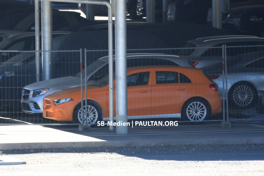 SPIED: 2018 Mercedes-Benz A-Class undisguised! Image #732015