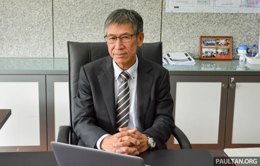 Yoshiya Inamori – get to know the new vice president of manufacturing at Proton; 35 years of experience Image #741354