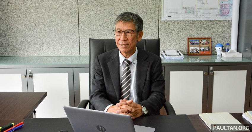 Yoshiya Inamori – get to know the new vice president of manufacturing at Proton; 35 years of experience Image #741355