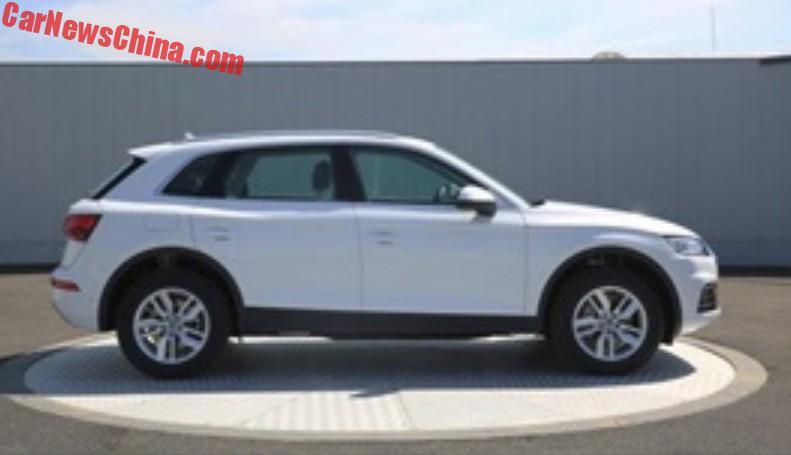 2018 Audi Q5L – long-wheelbase SUV for China only? Image #740450