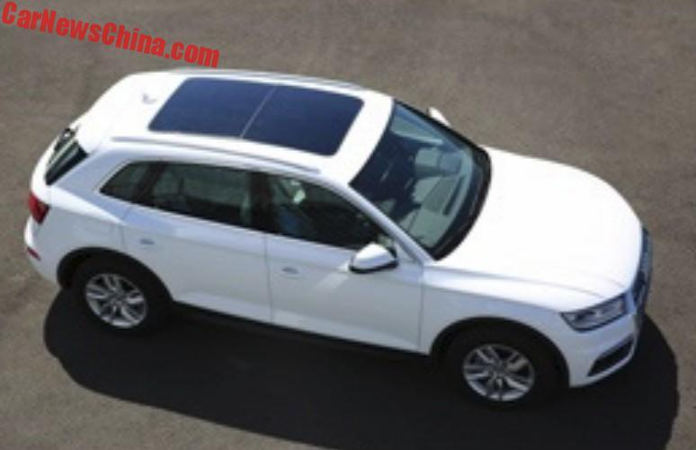 2018 Audi Q5L – long-wheelbase SUV for China only? Image #740449