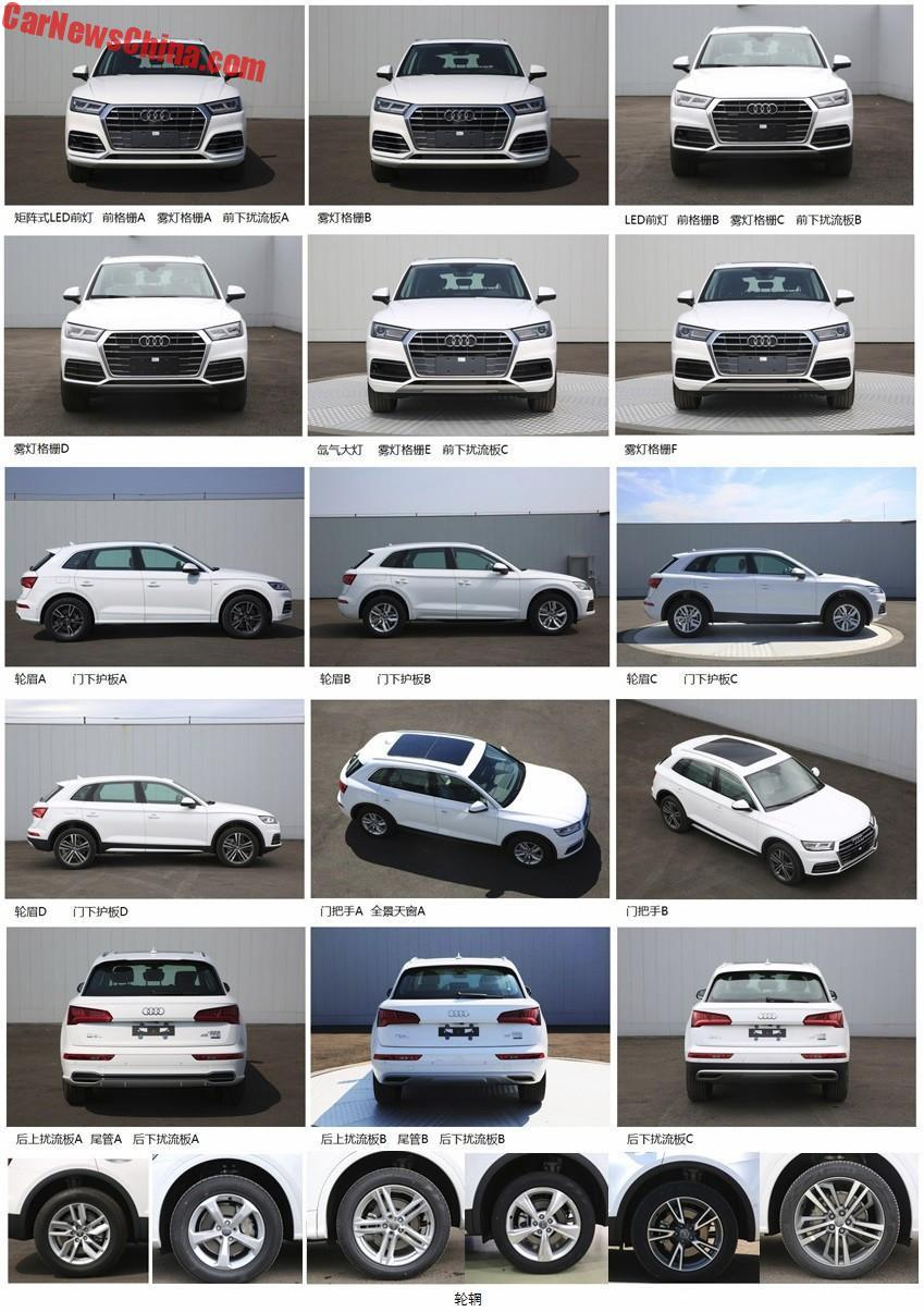 2018 Audi Q5L – long-wheelbase SUV for China only? Image #740448