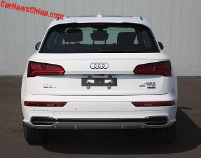 2018 Audi Q5L – long-wheelbase SUV for China only? Image #740447