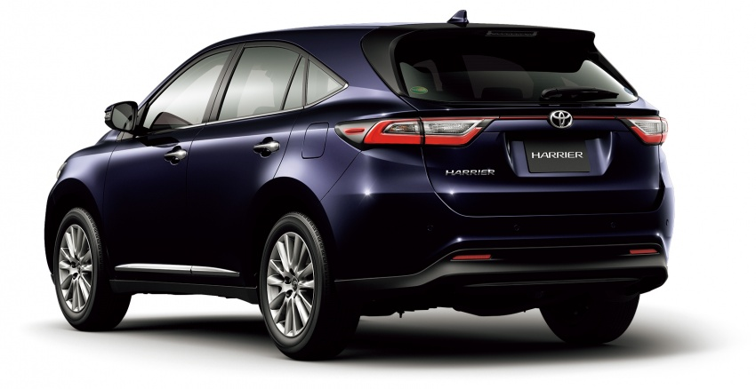 2018 Toyota Harrier Coming To Malaysia Latest Facelift