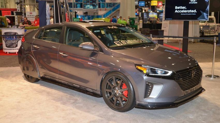 Hyundai HyperEconiq Ioniq Concept – hasil ubahsuai Bisimoto Engineering, tumpu kecekapan bahan api Image #732063