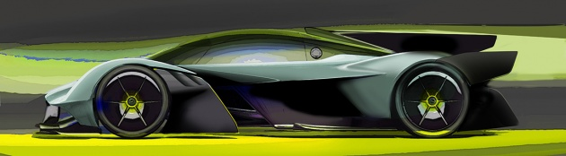 Aston Martin Valkyrie Amr Pro Teased In Sketches Paultan Org