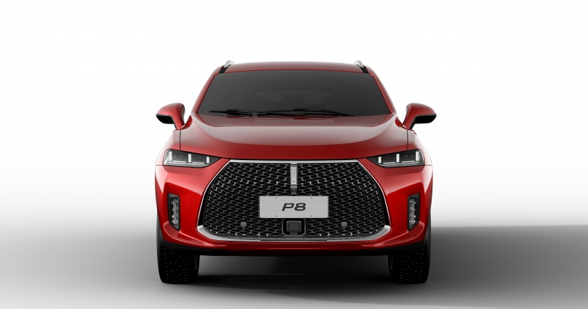 Wey P8 plug-in hybrid SUV unveiled in Guangzhou Image #743190