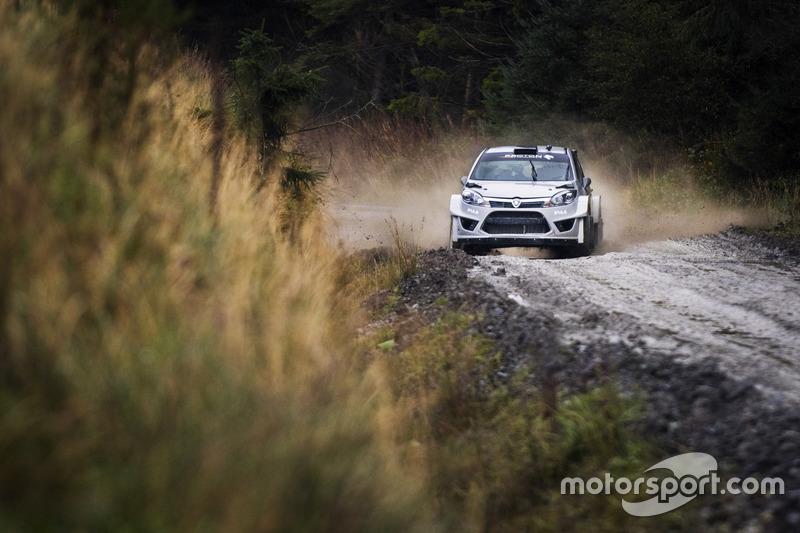 Lagenda WRC Marcus Grönholm uji Proton Iriz R5 Image #732040