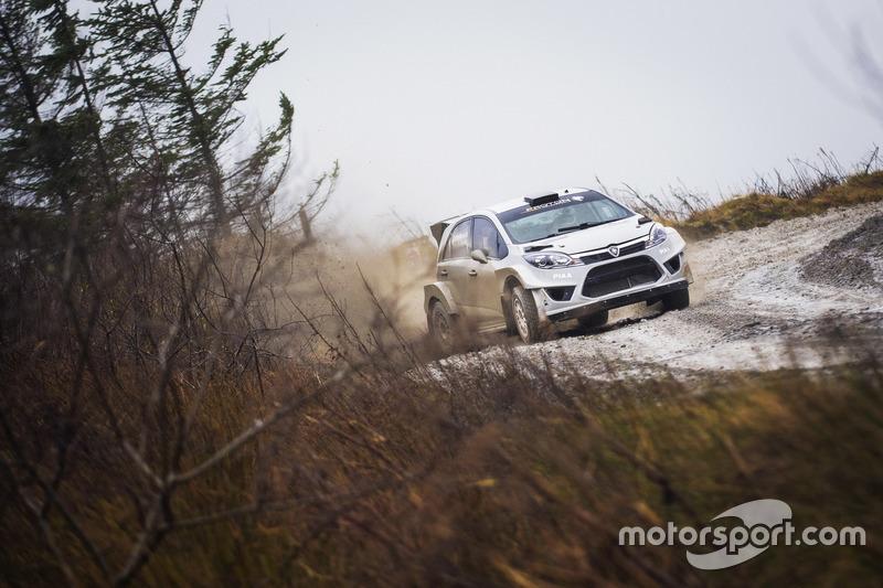 Lagenda WRC Marcus Grönholm uji Proton Iriz R5 Image #732047