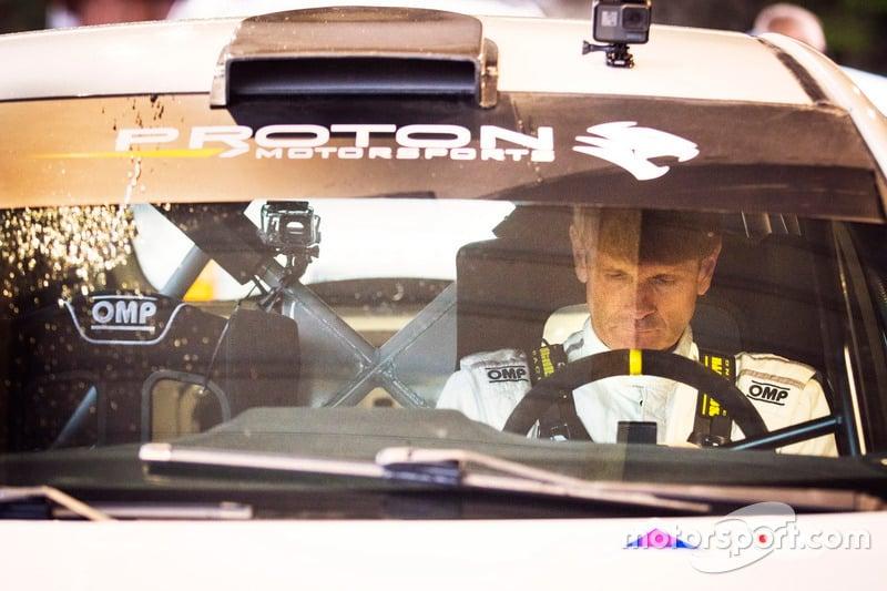 Lagenda WRC Marcus Grönholm uji Proton Iriz R5 Image #732046