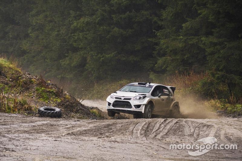Lagenda WRC Marcus Grönholm uji Proton Iriz R5 Image #732042