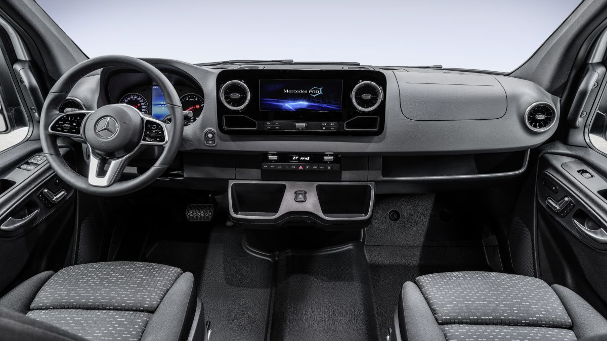Mercedes-Benz Sprinter – next-gen van interior shown Paul ...