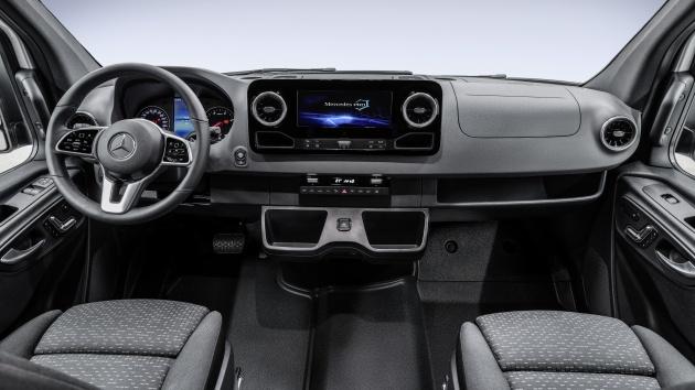Mercedes Benz Sprinter Next Gen Van Interior Shown