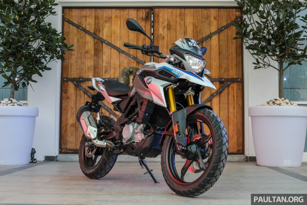 Review 2018 Bmw Motorrad G 310 Gs Adventure Biking Now Comes In