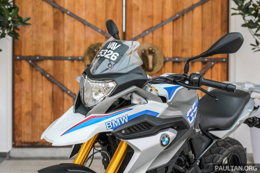 REVIEW: 2018 BMW Motorrad G 310 GS – adventure biking now comes in small sizes, RM29,900 Image #747073