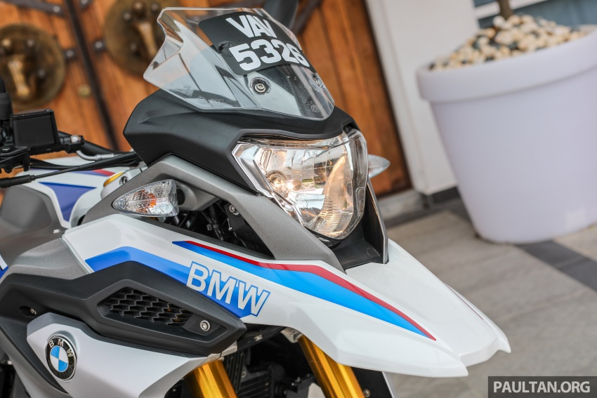 REVIEW: 2018 BMW Motorrad G 310 GS – adventure biking now comes in small sizes, RM29,900 Image #747075