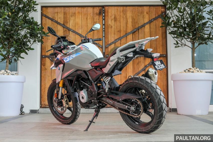 REVIEW: 2018 BMW Motorrad G 310 GS – adventure biking now comes in small sizes, RM29,900 Image #747062