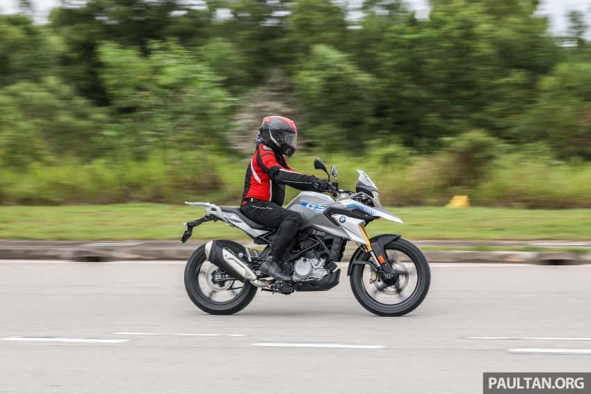 REVIEW: 2018 BMW Motorrad G 310 GS – adventure biking now comes in small sizes, RM29,900 Image #747129