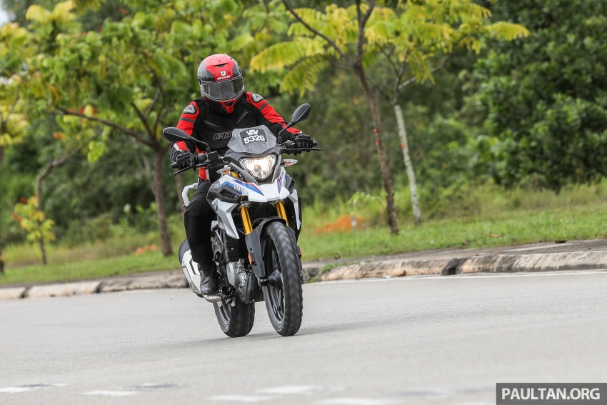 REVIEW: 2018 BMW Motorrad G 310 GS – adventure biking now comes in small sizes, RM29,900 Image #747131