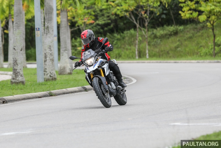 REVIEW: 2018 BMW Motorrad G 310 GS – adventure biking now comes in small sizes, RM29,900 Image #747132
