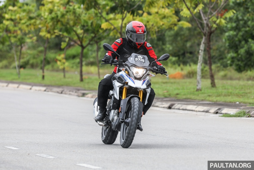 REVIEW: 2018 BMW Motorrad G 310 GS – adventure biking now comes in small sizes, RM29,900 Image #747133