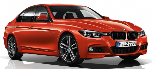 Japan Gets M Sport Edition Shadow Kit For F Series - Bmw 3 series m