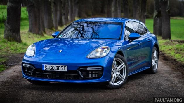 DRIVEN: Porsche Panamera 4 E-Hybrid Sport Turismo - in