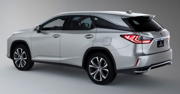 Lexus Rx 350l Seven Seater Nx 300 Facelift Range Now Open For
