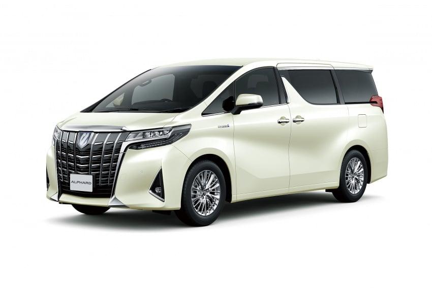 Toyota Alphard, Vellfire facelift: new 3.5 direct-injected V6, 8AT, standard second-gen Toyota Safety Sense Image #753596