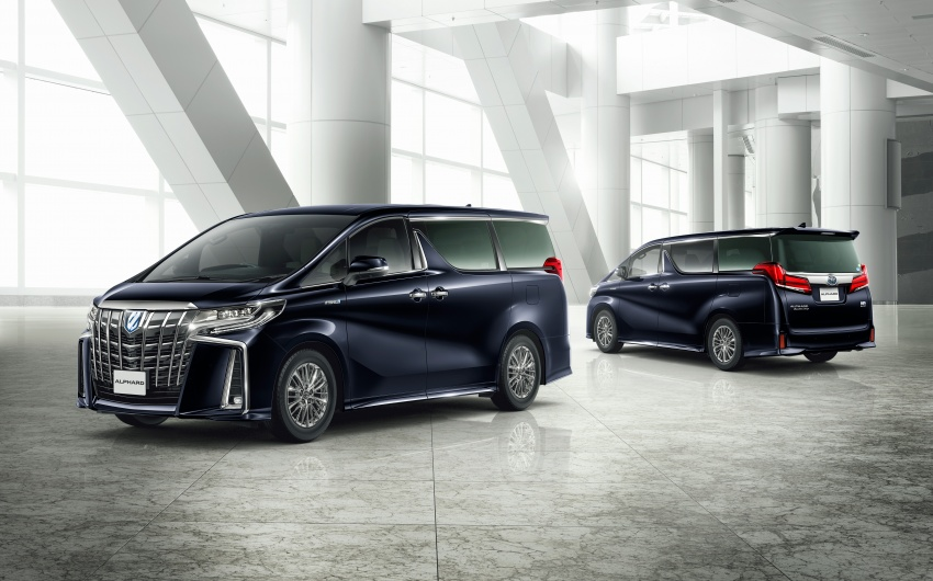 Toyota Alphard, Vellfire facelift: new 3.5 direct-injected V6, 8AT, standard second-gen Toyota Safety Sense Image #753597