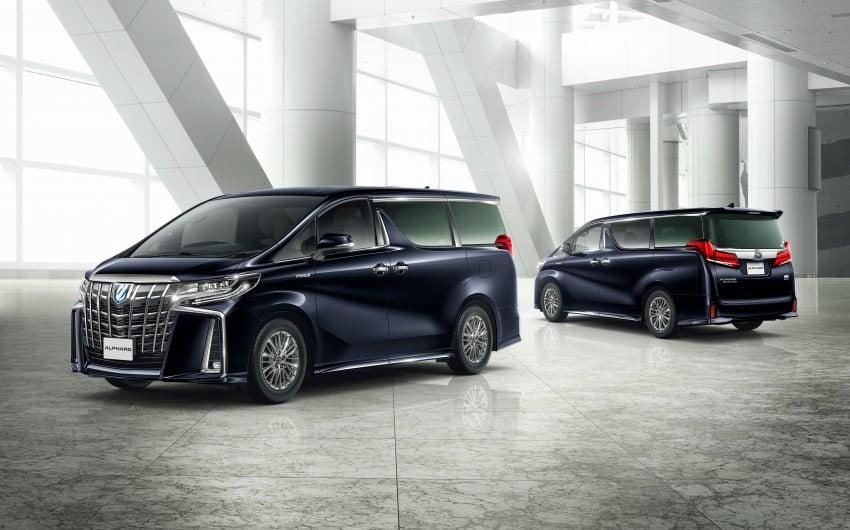 Toyota Alphard, Vellfire facelift: new 3.5 direct-injected V6, 8AT, standard second-gen Toyota Safety Sense Image #753597