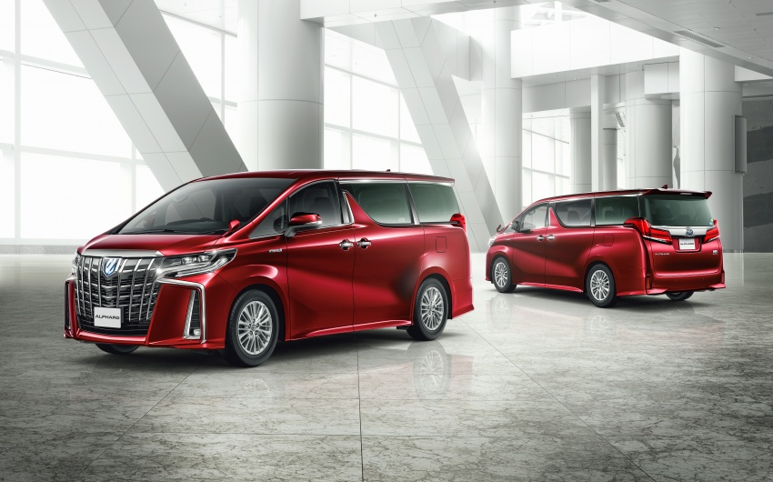 Toyota Alphard, Vellfire facelift: new 3.5 direct-injected V6, 8AT, standard second-gen Toyota Safety Sense Image #753599