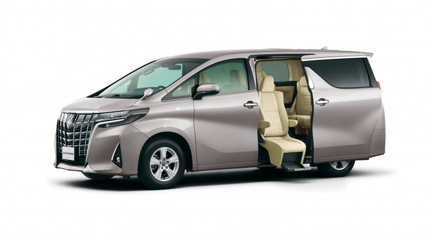 Toyota Alphard, Vellfire facelift: new 3.5 direct-injected V6, 8AT, standard second-gen Toyota Safety Sense Image #753600