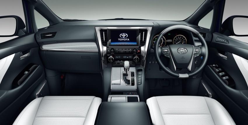 Toyota Alphard, Vellfire <em>facelift</em> – dengan enjin 3.5 liter V6 baru, 8AT dan Toyota Safety Sense generasi kedua Image #753797