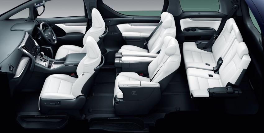 Toyota Alphard, Vellfire <em>facelift</em> – dengan enjin 3.5 liter V6 baru, 8AT dan Toyota Safety Sense generasi kedua Image #753798
