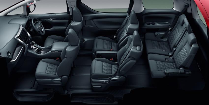 Toyota Alphard, Vellfire facelift: new 3.5 direct-injected V6, 8AT, standard second-gen Toyota Safety Sense Image #753606
