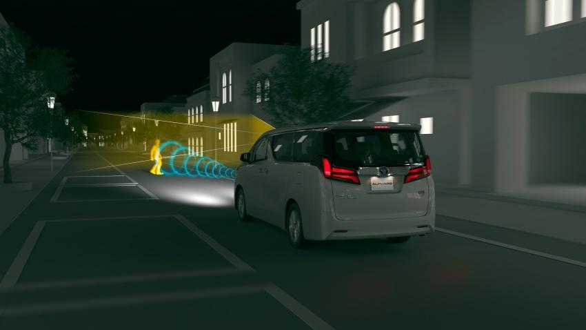 Toyota Alphard, Vellfire <em>facelift</em> – dengan enjin 3.5 liter V6 baru, 8AT dan Toyota Safety Sense generasi kedua Image #753804