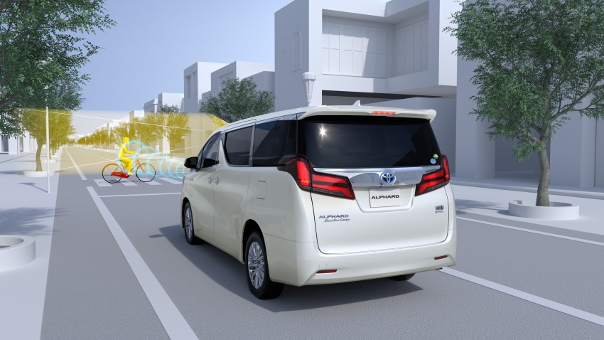 Toyota Alphard, Vellfire facelift: new 3.5 direct-injected V6, 8AT, standard second-gen Toyota Safety Sense Image #753609
