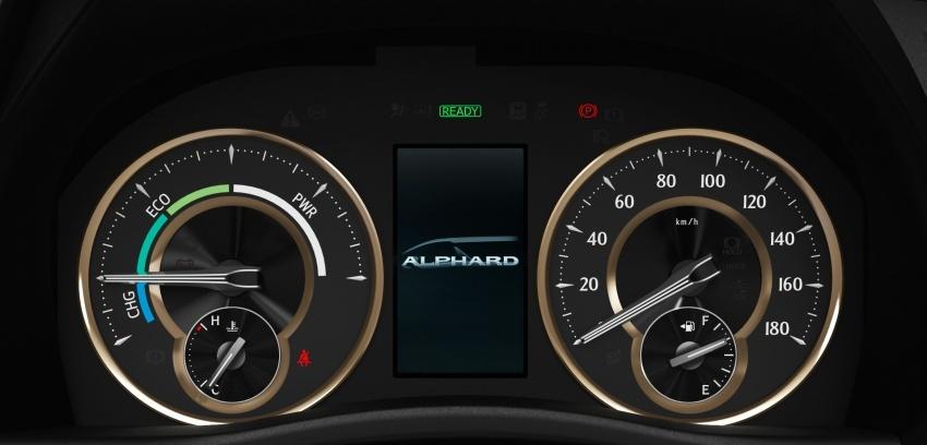 Toyota Alphard, Vellfire <em>facelift</em> – dengan enjin 3.5 liter V6 baru, 8AT dan Toyota Safety Sense generasi kedua Image #753809