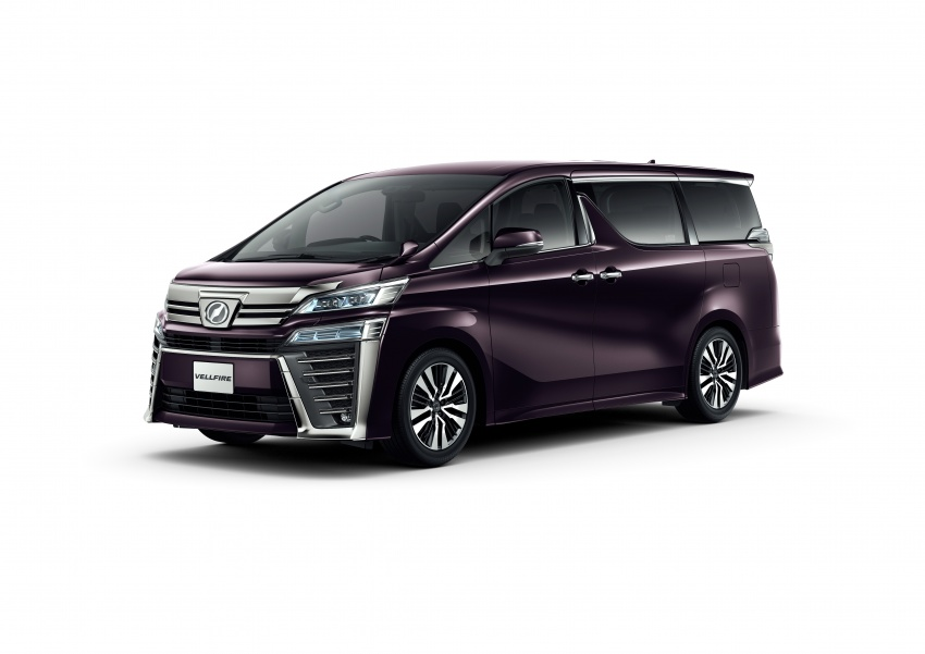 Toyota Alphard, Vellfire facelift: new 3.5 direct-injected V6, 8AT, standard second-gen Toyota Safety Sense Image #753624