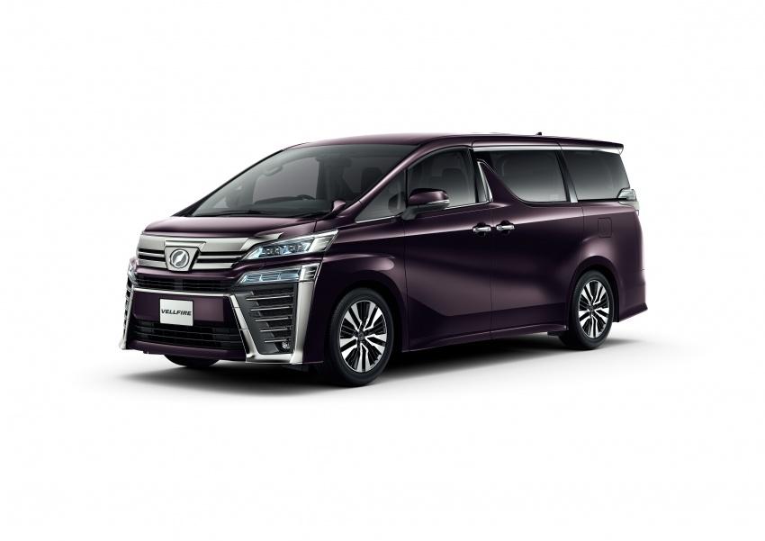 Toyota Alphard, Vellfire facelift: new 3.5 direct-injected V6, 8AT, standard second-gen Toyota Safety Sense Image #753624