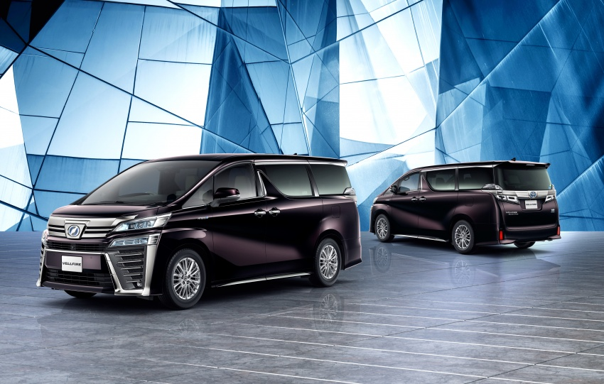 Toyota Alphard, Vellfire facelift: new 3.5 direct-injected V6, 8AT, standard second-gen Toyota Safety Sense Image #753625