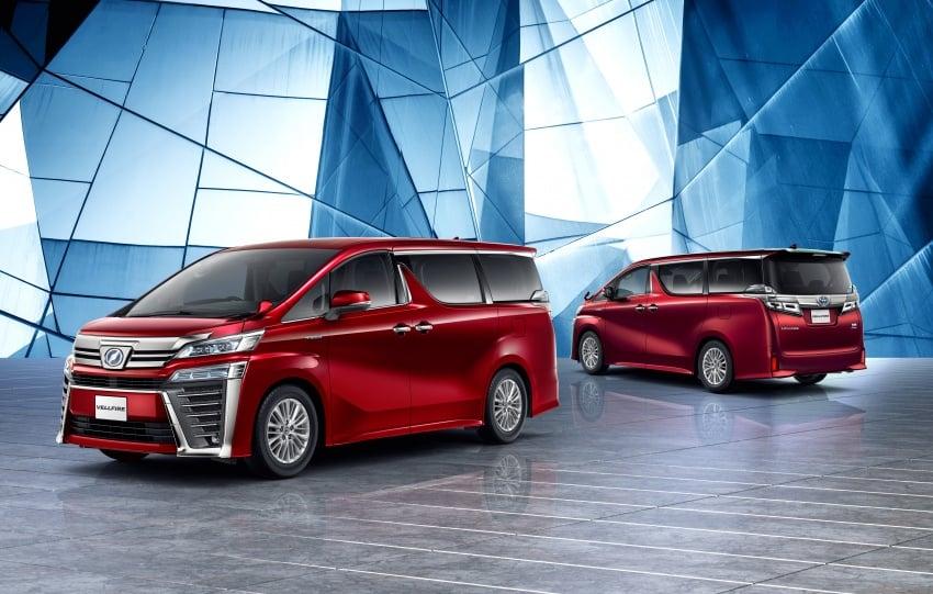 Toyota Alphard, Vellfire facelift: new 3.5 direct-injected V6, 8AT, standard second-gen Toyota Safety Sense Image #753626