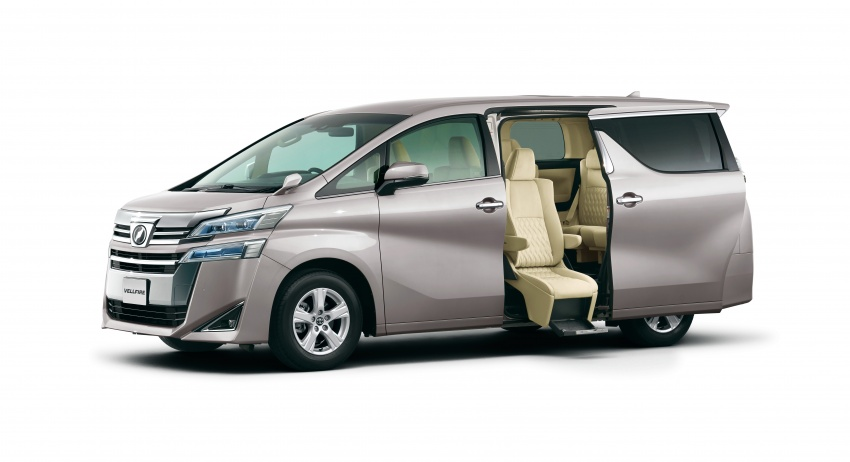 Toyota Alphard, Vellfire facelift: new 3.5 direct-injected V6, 8AT, standard second-gen Toyota Safety Sense Image #753627