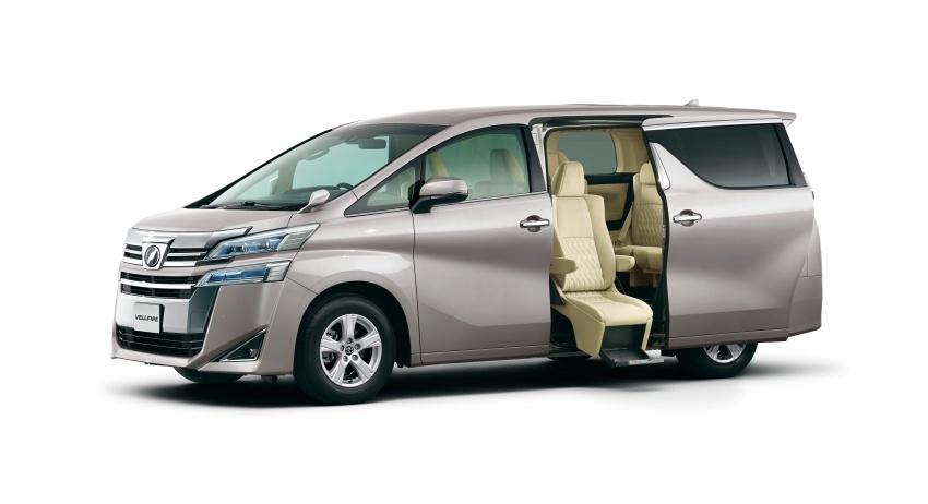 Toyota Alphard, Vellfire <em>facelift</em> – dengan enjin 3.5 liter V6 baru, 8AT dan Toyota Safety Sense generasi kedua Image #753830